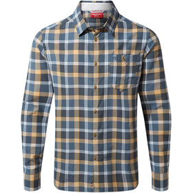 Craghoppers NosiLife Balbor Chemise Manches longues Homme, ocean blue check
